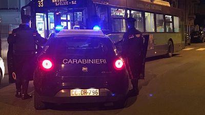 """Ho una bomba"", semina panico su bus"
