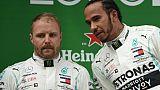 """GP de F1 d'Azerbaïdjan: Mercedes """"ne se sent pas invincible"""", assure Bottas"""