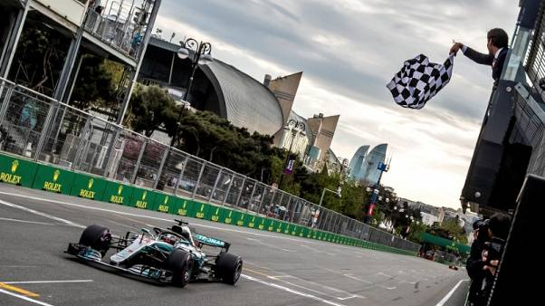 Baku keen to return to June date for F1 race