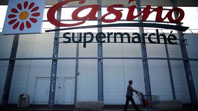 Retailer Casino's first-quarter sales growth slows as France weaker