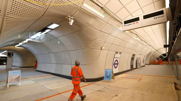 London's Crossrail puts back opening to March 2021 at the latest