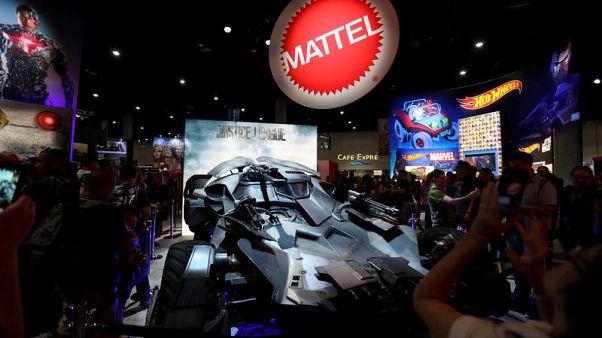 Mattel beats revenue estimates as Barbie shines again; shares jump 12 percent