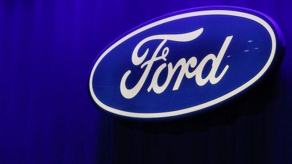 Ford first-quarter profit falls, but beats Wall St estimates