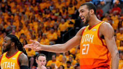 NBA: pour Gobert, l'élimination d'Utah dès le 1er tour est une humiliation