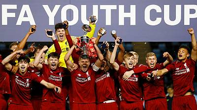 Liverpool win FA Youth Cup final against Man City on penalties