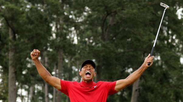 Woods says Nicklaus's record in crosshairs