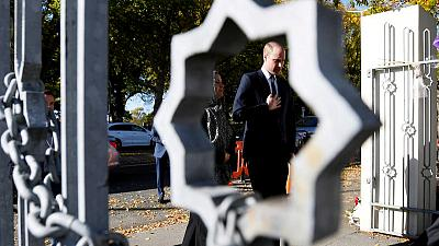 Prince William visits New Zealand mosques attacked by gunman, meets survivors
