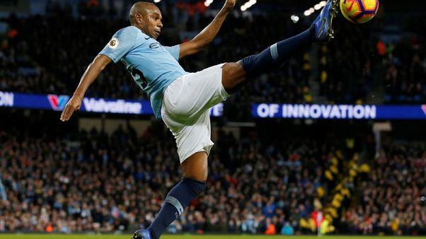 Man City competing like 'animals' to win title - Fernandinho