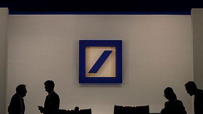 Deutsche's investment bank shows weakness even as first-quarter profit jumps