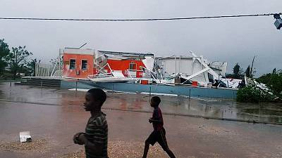 Cyclone kills one, leaves trail of destruction across Mozambique
