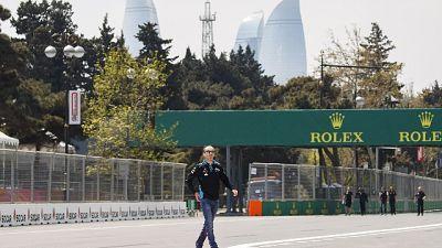 Baku: tombino 'rialzato', Fp1 annullata