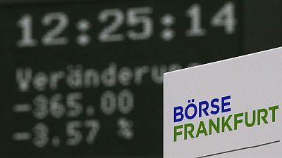 European shares dip as mixed earnings roll in, U.S. GDP in focus