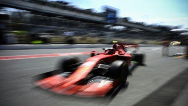 GP de F1 d'Azerbaïdjan: une bouche d'égout décrochée interrompt les essais libres 1