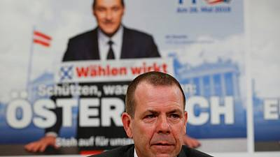 Austria broadcaster defends journalist who compared far-right poster to Nazis