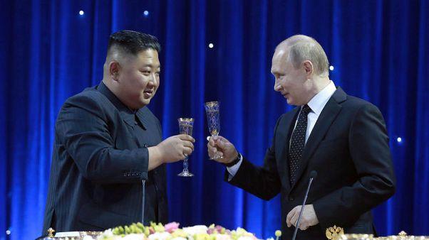 Trump welcomes Putin's statements on North Korea