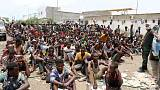 منظمة الهجرة: احتجاز آلاف المهاجرين في جنوب اليمن