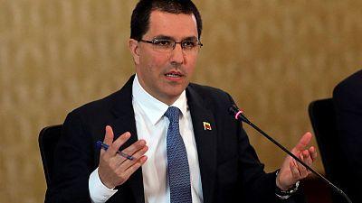 U.S. imposes sanctions on Venezuela's foreign minister, Venezuelan judge