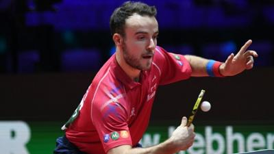 Mondiaux tennis de table: le Français Simon Gauzy éliminé en quart