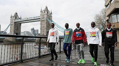 Kenyan Kiptum suspended, won't run in London Marathon