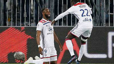 Dembele strikes late to give Lyon 3-2 win at Bordeaux