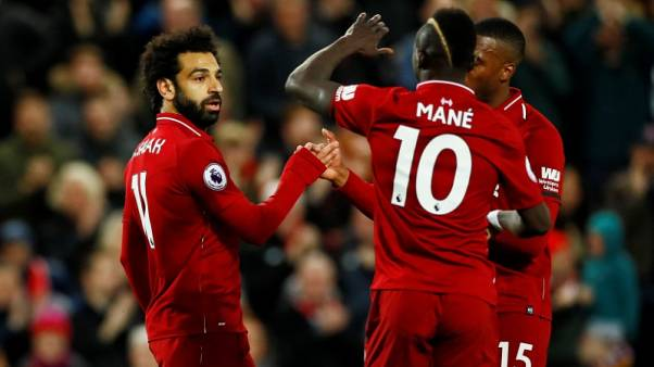 Salah and Mane send Liverpool top - for now