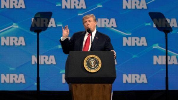 """Donald Trump """"rejette"""" un traité de l'ONU sur le commerce des armes"""