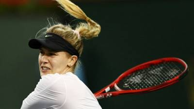 Tennis: la Canadienne Eugénie Bouchard n'a plus d'entraîneur