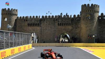 GP d'Azerbaïdjan: Ferrari écrase les essais libres 3