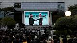 'Jilted bride' - As South Korea marks peace summit, North stays aloof