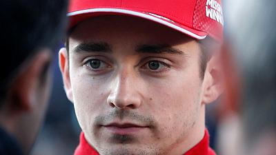 Leclerc crashes out of qualifying in Baku