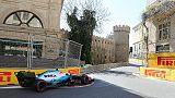 Gp Baku: incidente a Kubica in qualifica