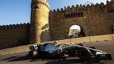 Gp Baku: pole di Bottas, terzo Vettel