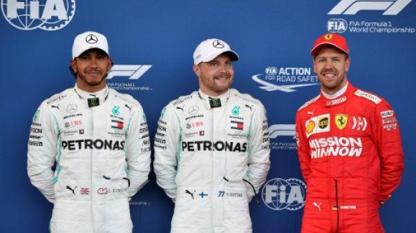 F1: Valtteri Bottas en pole devant Hamilton au GP d'Azerbaïdjan
