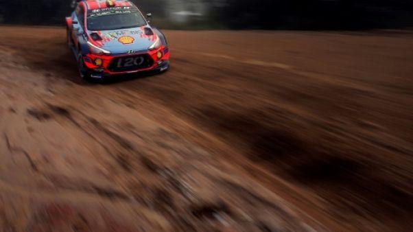 Rallye d'Argentine: duel Neuville-Tänak, Ogier distancé