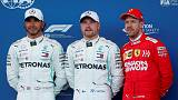 Bottas on pole for Azerbaijan Grand Prix