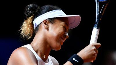 La Japonaise Naomi Osaka lors du tournoi de Stuttgart le 26 avril 2019