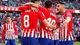 هدف عكسي يمنح أتليتيكو مدريد الفوز على بلد الوليد