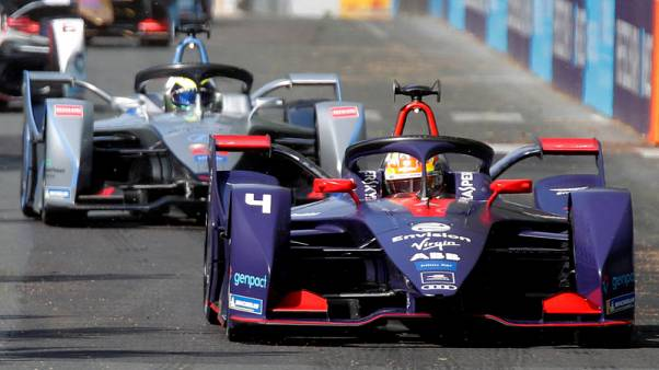 Frijns is Formula E's eighth different winner in eight races