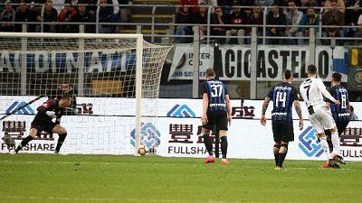CR7 segna contro Inter, 600 gol con club