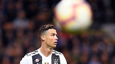 Ronaldo hits 600th club goal as Juventus hold Inter Milan
