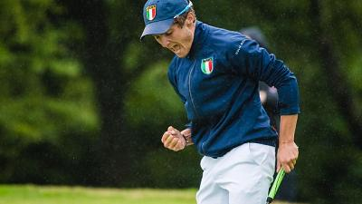 Junior Invitational, titolo a McKibbin