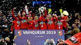 ستاد رين يصعق باريس سان جيرمان ويحرز لقب كأس فرنسا