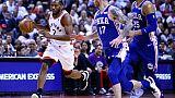 NBA: Toronto frappe fort d'entrée, San Antonio craque