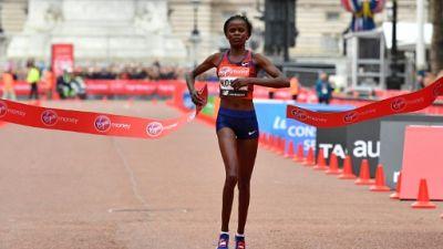 Marathon de Londres: première victoire pour Brigid Kosgei