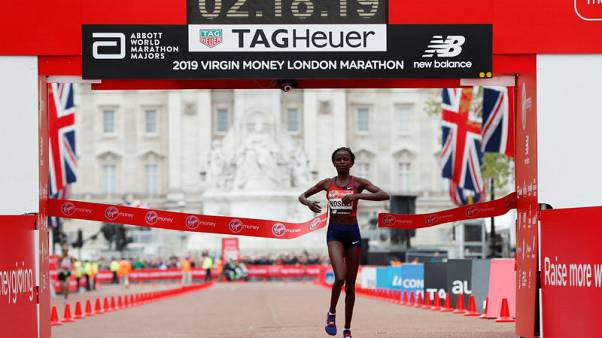 Kosgei beats favourites to win first London Marathon title