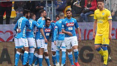Serie A: Frosinone-Napoli 0-2