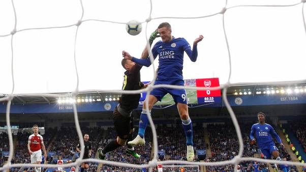 Arsenal's top-four hopes hit in 3-0 defeat at Leicester