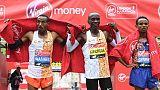 Maratona Londra: vince Eliud Kipchoge