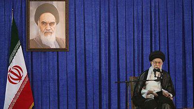 Iran's Khamenei urges crackdown on illegal arms, social media curbs