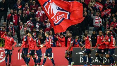 L1: Lille conforte sa deuxième place de L1 en écrasant Nîmes (5-0)